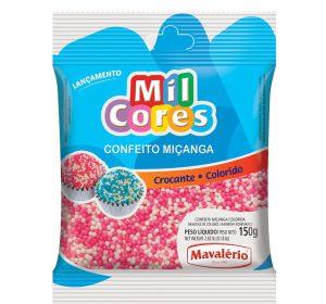 סוכריות עגולות קטנות ורוד לבן 150 MAVALERIO גרם