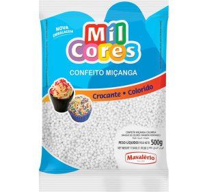 סוכריות עגולות קטנות לבן 500 גרם MAVALERIO