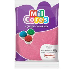 סוכר בצבע ורוד 500 גרם - MAVALERIO