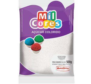 סוכר בצבע לבן 500 גרם - MAVALERIO